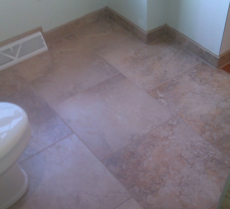 Tile floors tile flooring tile installer alone eagle for Floors on floors