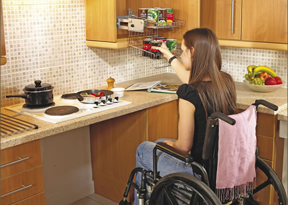 Handicap home modification contractor in harrisburg and for Wheelchair accessible homes