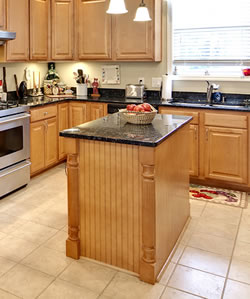Add an island into your kitchen remodeling plans alone - Adding a kitchen island ...