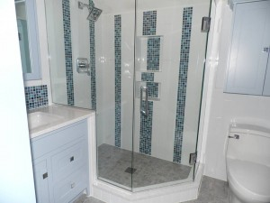 tile shower and glass enclosure installation in harrisburg pa