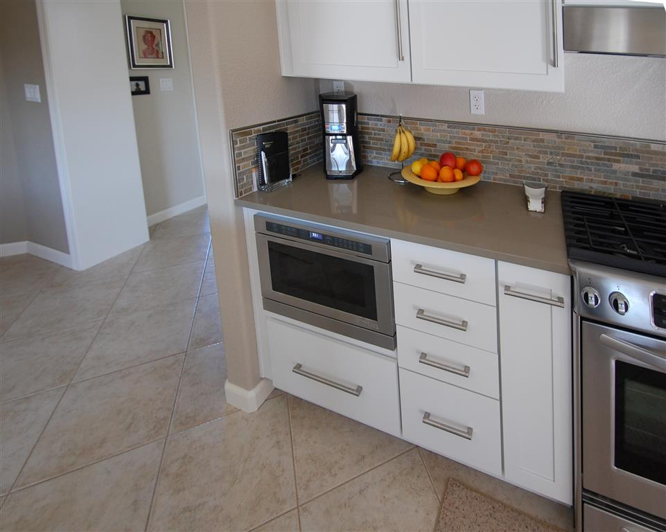 Under Cabinet Microwave. In Total I Bought And Hung Packages Of ...