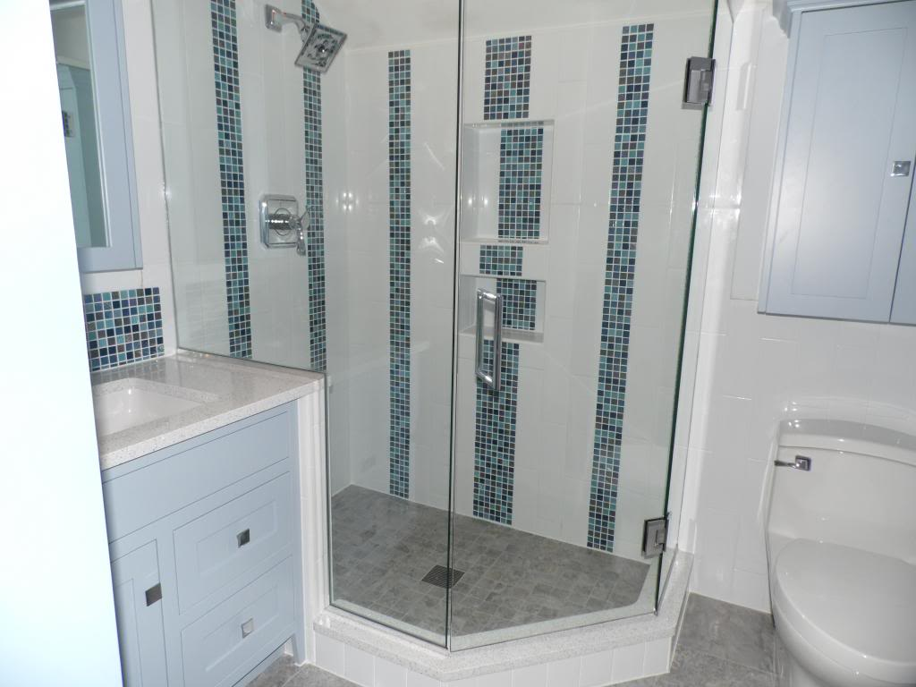 Tile and stone showers alone eagle remodeling Bathroom tile showers