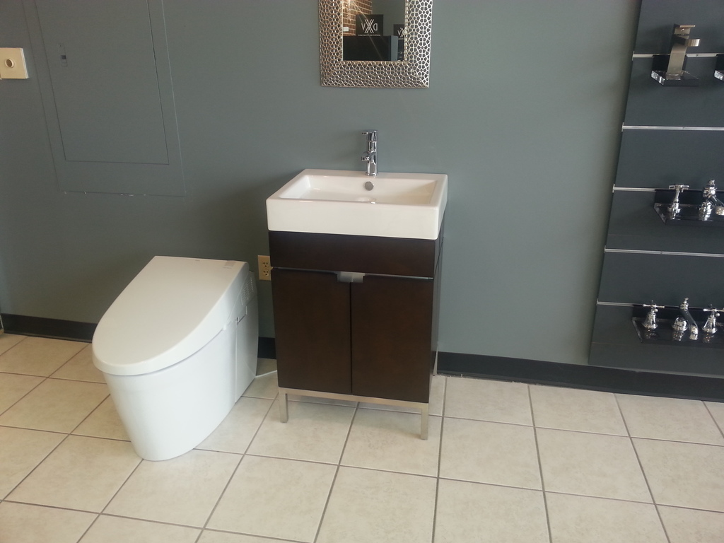 small cabinetry that fits into your bathroom