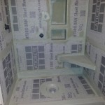 How your shower should look before Tile gets installed