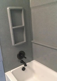 Alcove Tub and Shower