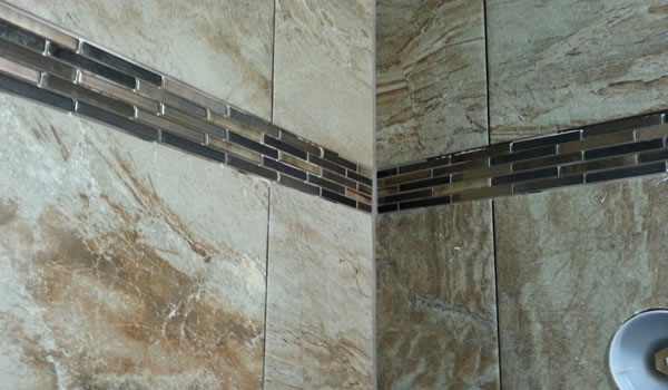Finish Grouting a Tile Shower.