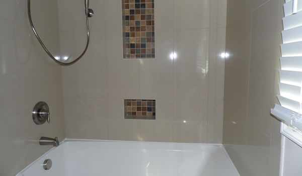Tub With Tile Shower Walls