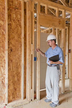 Getting a permit for your basement finishing project.