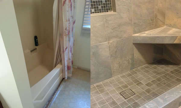 Attrayant Tub To Shower Conversion