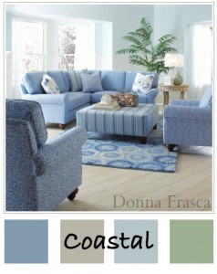 Coastal colors are a warm tone for your eyes.
