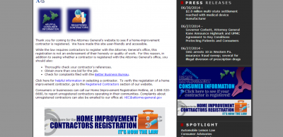 Finding a registered remodeling contractor in Harrisburg, Pa
