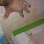 tile walls and shower base installation in Harrisburg, Pa
