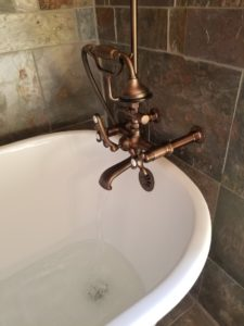 wall mounted clawfoot tub faucets in Gettysburg, Pa