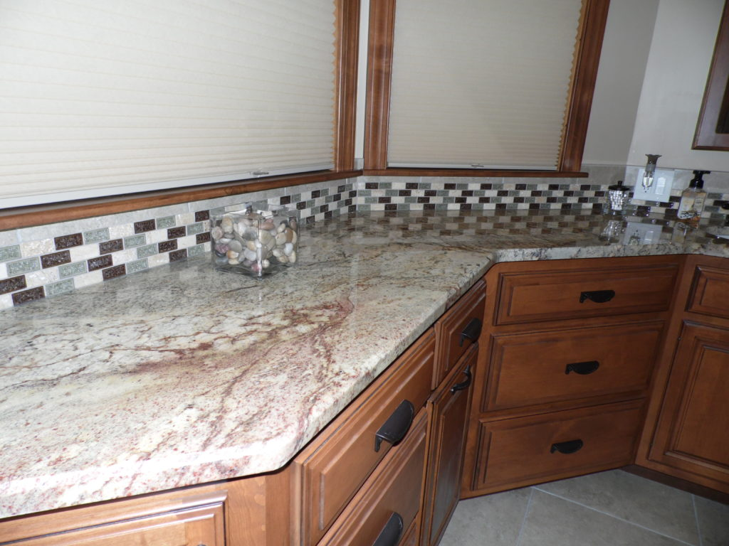 granite vanity top and custom bathroom woodwork in Harrisburg, pa